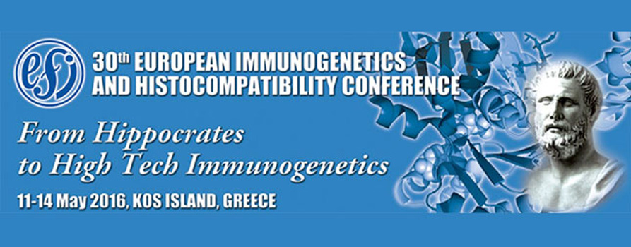 30th European Immunogenetics and Histocompatibility Conference