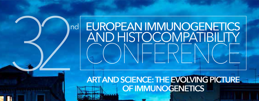 32nd European Immunogenetics and Histocompatibility Conference