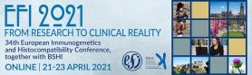 34th European Immunogenetics and Histocompatibility Conference